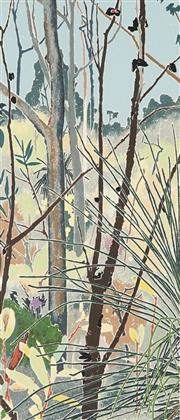 Sale 8791 - Lot 550 - Cressida Campbell (1960 - ) - The Bush 49.5 x 22cm (frame: 80 x 49.5cm)
