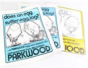 Sale 8855 - Lot 12 - Series Of Vintage Parkwood Eggs Advertising Posters From Canberra