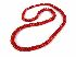 Sale 3808 - Lot 469 - A GRADUATED CORAL BEAD NECKLACE;
