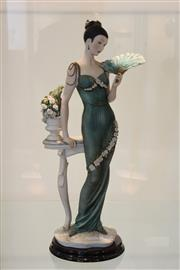 Sale 8008 - Lot 87 - Florence Ltd Ed Soiree Figure by Giuseppe Armani with Box and Papers