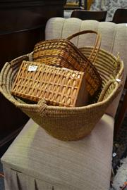 Sale 8099 - Lot 870 - Collection of Baskets