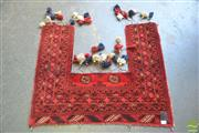 Sale 8326 - Lot 1228 - Persian Door Hanging (110 x 100cm)