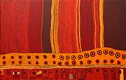 Sale 8647 - Lot 536 - Marinkga Baker (1952 - ) - Papaku Tjukurpa, 2009 93 x 148.5cm (stretched and ready to hang)