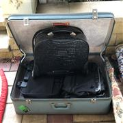 Sale 8774A - Lot 357 - A group of assorted luggage including serenade Beverly hills collection cabin bag and others
