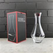 Sale 9905W - Lot 647 - 3x Riedel Merlot Carafe Crystal Wine Decanters, new in box