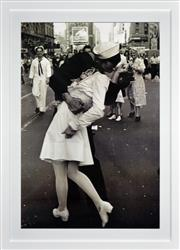 Sale 8330A - Lot 131 - Alfred Eisenstaedt (1898 - 1995) - V-J Day in Times Square 90 x 60cm
