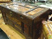 Sale 8412 - Lot 1079 - Carved Camphorwood Lift Top Trunk