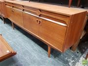 Sale 8493 - Lot 1026 - Superb Alfred Cox Teak Sideboard