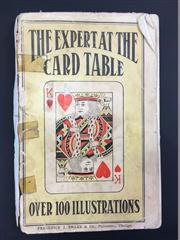 Sale 8539M - Lot 29 - S. W. Erdnase, The Expert at the Card Table; Or, Artifice, Ruse and Subterfuge at the Card Table, a Treatise on the Science and Art...