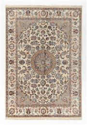 Sale 8770C - Lot 105 - An Indo Persian Nain Super Fine Wool And Silk Inlaid Pile, 249 x 147cm