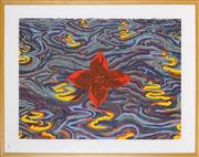 Sale 8878 - Lot 2047 - Victor Majzner (1945 - ) - Flower and Water 56 x 76cm (frame: 74 x 94cm)