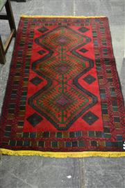 Sale 8105 - Lot 1087 - Persian Hand Knotted Balouch (140 x 80)
