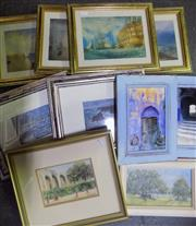 Sale 8563T - Lot 2048 - A Collection of Various Paintings and Prints (framed/various sizes)