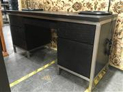Sale 8782 - Lot 1372 - Modern Desk with Five Drawers & Single Door
