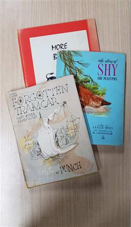 Sale 9180 - Lot 2066 - 3 Volumes: The Forgotten Tramcar & Other Drawings, 1952; Gregory, R.E. More Bull, 1974; Rees, L. The Story of Shy the Platypus