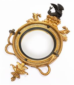Sale 9200P - Lot 98 - A spectacular gilded mirror in the Georgian style, Height 105cm x Width 58cm