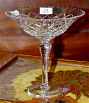 Sale 7997 - Lot 74 - AN ENGLISH WEBB CORBETT HAND CUT LEAD CRYSTAL BERRY COMPORT