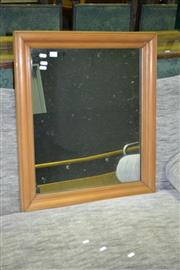 Sale 8093 - Lot 1447 - Timber Framed Mirror