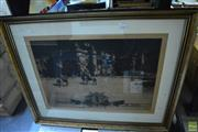 Sale 8214 - Lot 2363 - David Young Cameron (1865 - 1945) - Holyrood In 1745, 1896 33 x 47cm