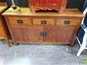 Sale 8447 - Lot 1010 - Oriental Rosewood Sideboard