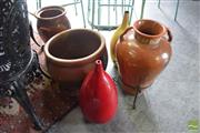 Sale 8532 - Lot 1202 - Collection of Pots and Vases