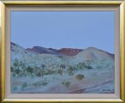 Sale 8940J - Lot 74 - Ray Crooke (1922 - 2015) - Kimberley Landscape, oil on canvas, 59x75cm, signed lower right.