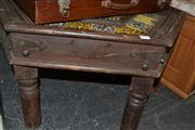 Sale 8013 - Lot 1249 - Hand Painted Tile Top Table (293)