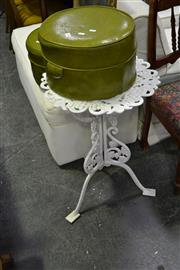 Sale 8035 - Lot 1084 - Iron Outdoor Table