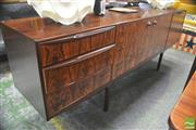 Sale 8310 - Lot 1046 - Superb McIntosh Rosewood Sideboard