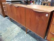 Sale 8566 - Lot 1017 - McIntosh Teak Sideboard (76 x 46 x 201)