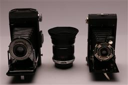 Sale 9110 - Lot 384 - Two Vintage Cameras And A Paragon Lens