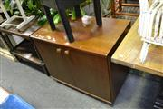 Sale 7987A - Lot 1288 - Small Timber 2 Door Cupboard