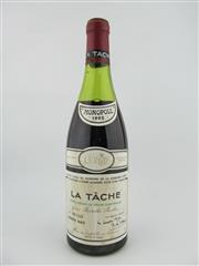 Sale 8397 - Lot 510 - 1x 1985 Domaine de la Romanee-Conti, La Tache - level at 5cm below cork, damaged capsule
