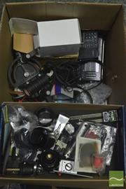 Sale 8370 - Lot 1836 - Collection Of Musical Items And Parts Including Rode Mount, Digital Multimeter, Jacks, Jazz Movies Etc