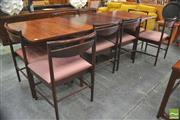 Sale 8310 - Lot 1047 - Superb McIntosh Rosewood Table and 8 Chairs