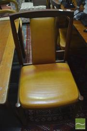 Sale 8326 - Lot 1740 - Set of Six Retro Dining Chairs