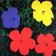 Sale 8459 - Lot 538 - Andy Warhol (1928 - 1987) - Flowers 91 x 91cm