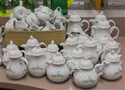 Sale 8310A - Lot 221 - A large quantity of Schonwald hotel tea and coffee wares