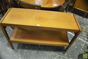 Sale 8350 - Lot 1071 - Teak Metamorphic Hall Table
