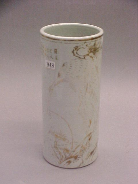 Sale 7271 - Lot 75 - A CHINESE CYLINDRICAL VASE