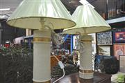 Sale 8272 - Lot 1096 - Pair of Bitossi/Flavia Cylinder Lamps, 1970 (tall/cyl)