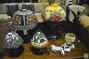 Sale 8368 - Lot 1063 - Collection of Table Lamps 6)