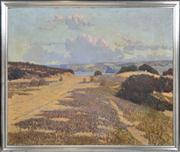 Sale 8374 - Lot 565 - Howard Ashton (1877 - 1964) - Tracks to the Beach, 1906 78 x 93.5 cm