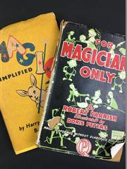 Sale 8539M - Lot 37 - Robert Parrish, 'For Magicians Only: A Guide to the Art of Mystifying. First edition in this publisher, 1946. London: Quality Press...