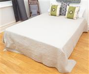 Sale 9070H - Lot 181 - A Queen ensemble bed including a Bodycare mattress with assorted bedding