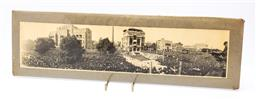 Sale 9185 - Lot 45 - An early panoramic photograph of the pope (H:55cm W:16.5cm)