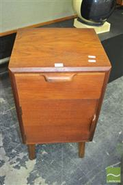 Sale 8275 - Lot 1076 - Teak Bedside Cabinet