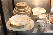 Sale 8360 - Lot 100 - Alfred Meakin Marigold Dinner Setting
