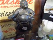 Sale 8466 - Lot 45 - Cast Metal Sumo Figure