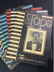 Sale 8539M - Lot 38 - Tops Magazine, complete year for 1946, all with covers